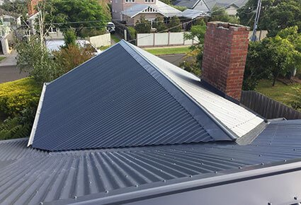 Colourbond Re Roof After 2