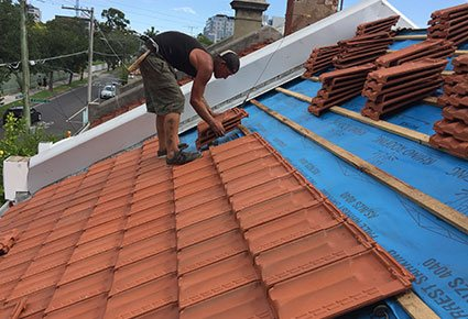 Tile Re Roof After 3