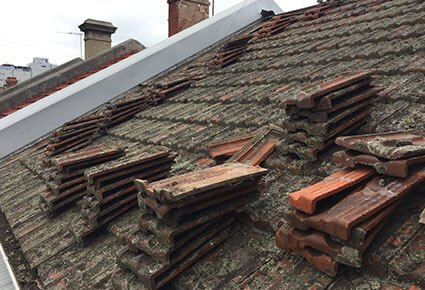 Tile Re Roof Before 3