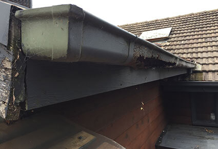 Gutter Replacewment Before